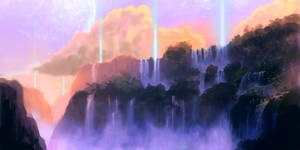 Big waterfall by willroberts04