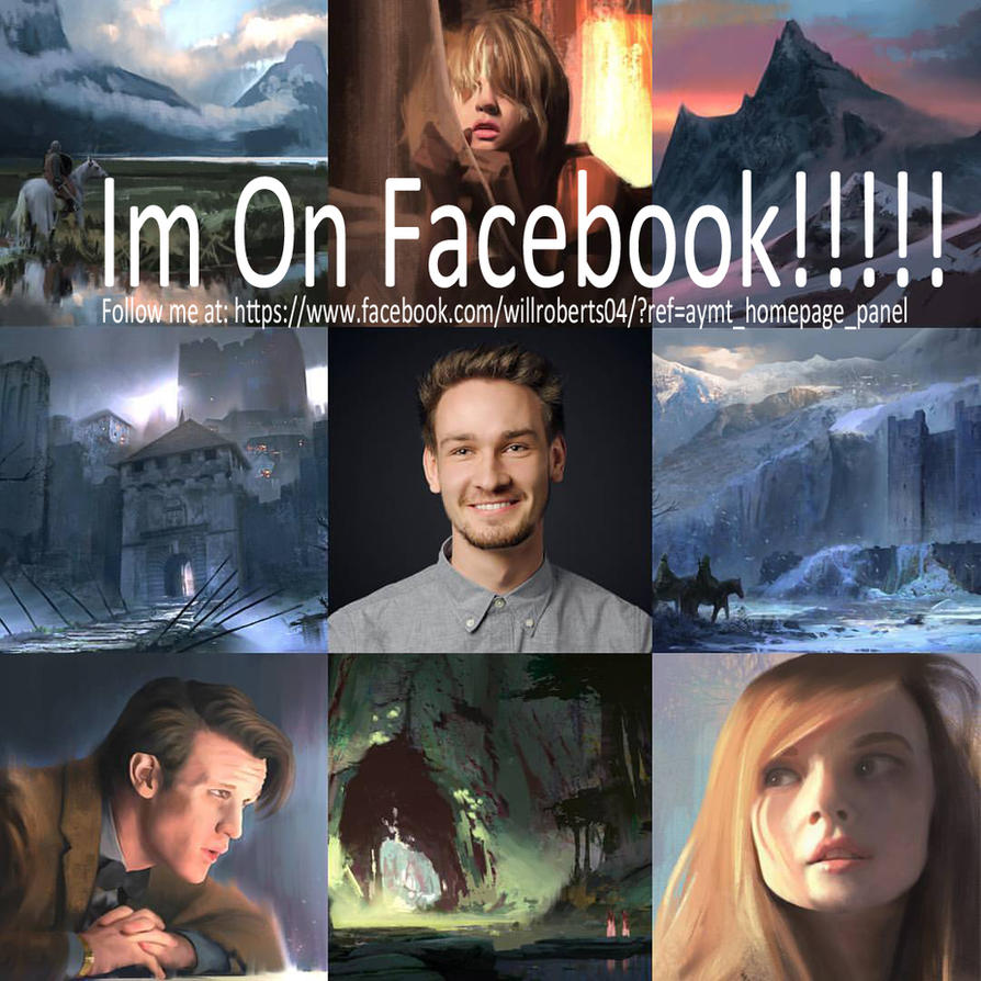 Im on Facebook! by willroberts04