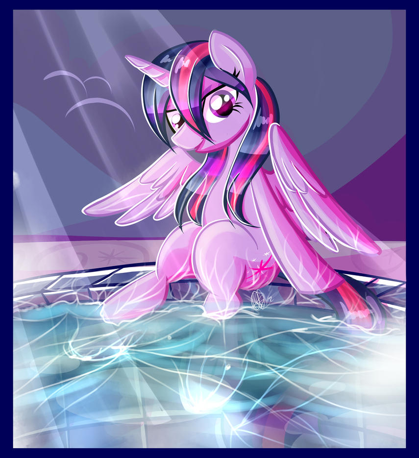 you want to bathe with me? by xWhiteDreamsx