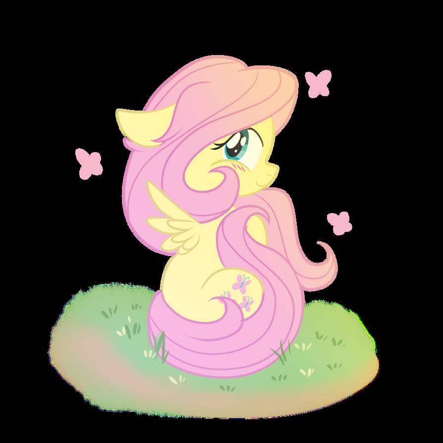 Fluttershy Chibi by xWhiteDreamsx on deviantART