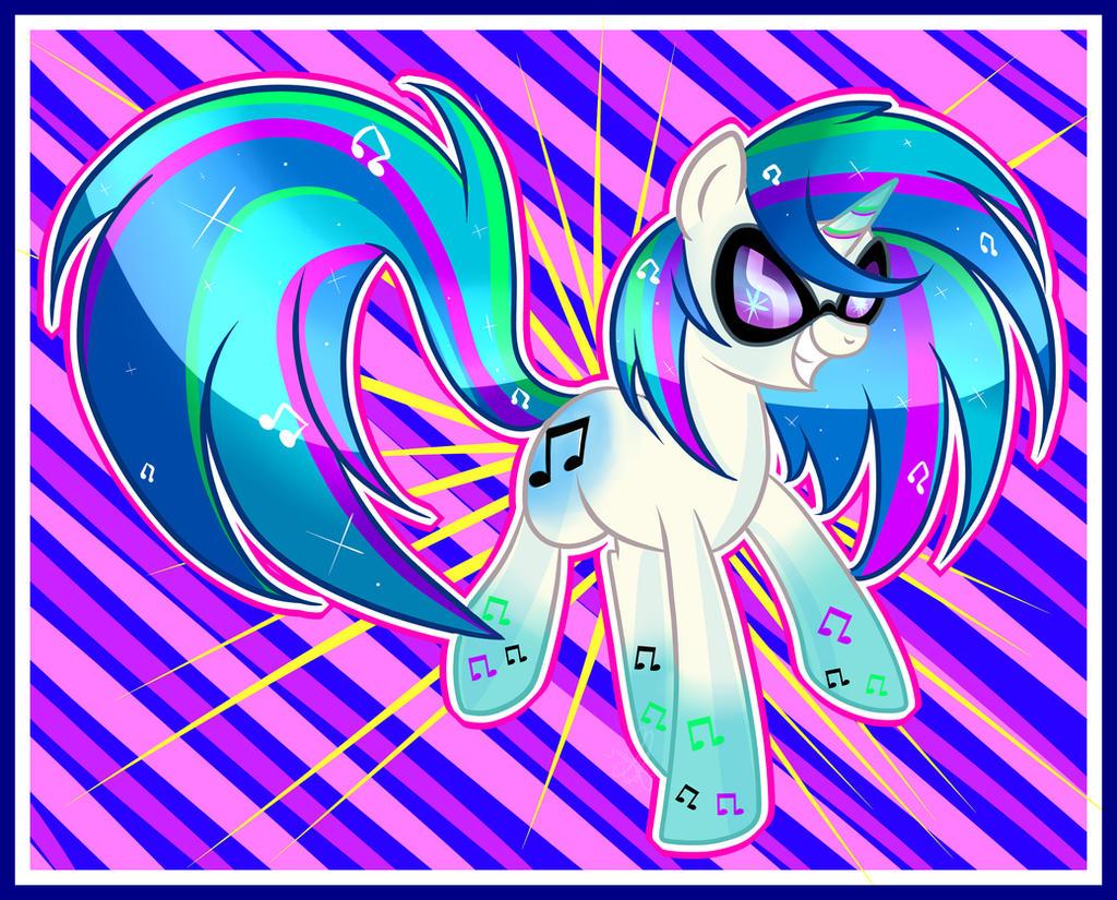 vinyl Rainbow power by xWhiteDreamsx