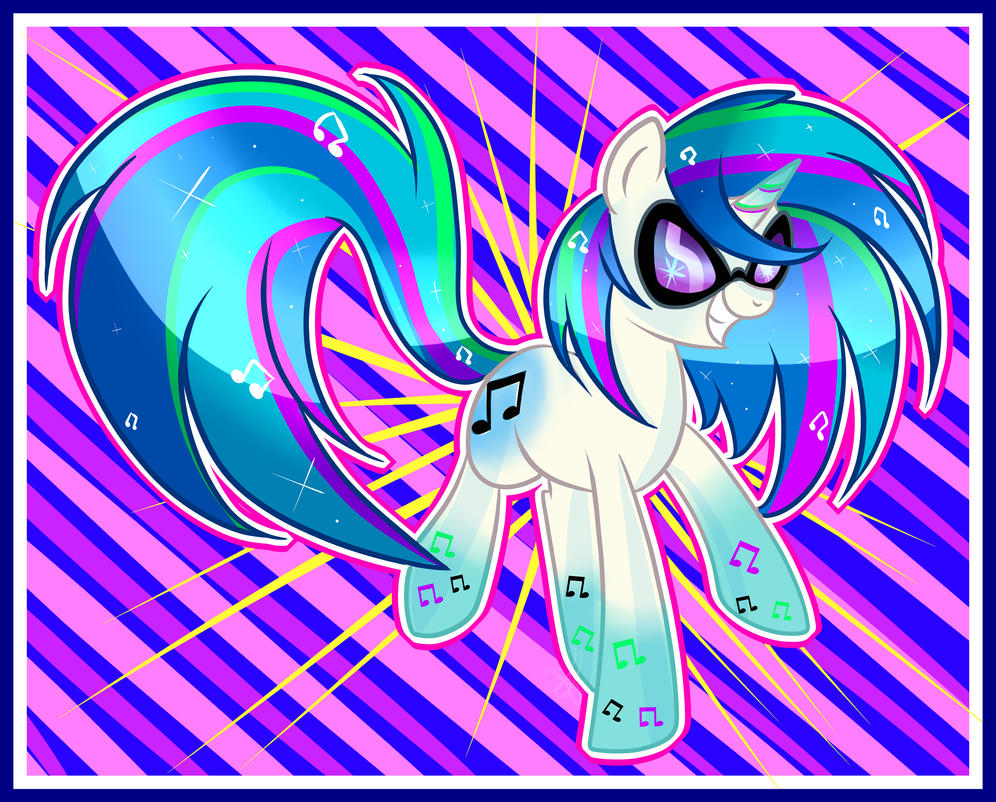vinyl Rainbow power by xWhiteDreamsx