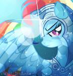 crystal rainbow shield