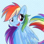 Rainbow cute dash