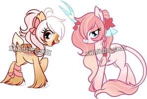 Two Auctions Kirin And Deer (CLOSED) by xWhiteDreamsx