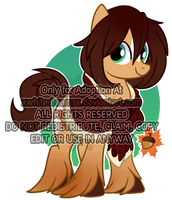 autumn pony adoptable (CLOSED) by xWhiteDreamsx
