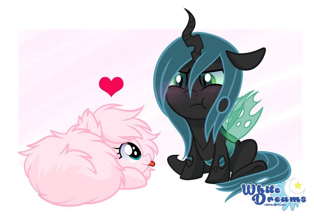 fluffy love by xWhiteDreamsx