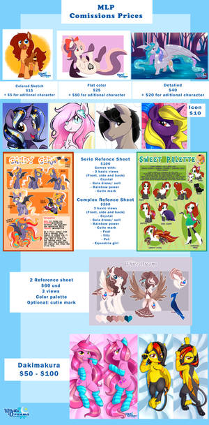 New Comission Prices (MLP)