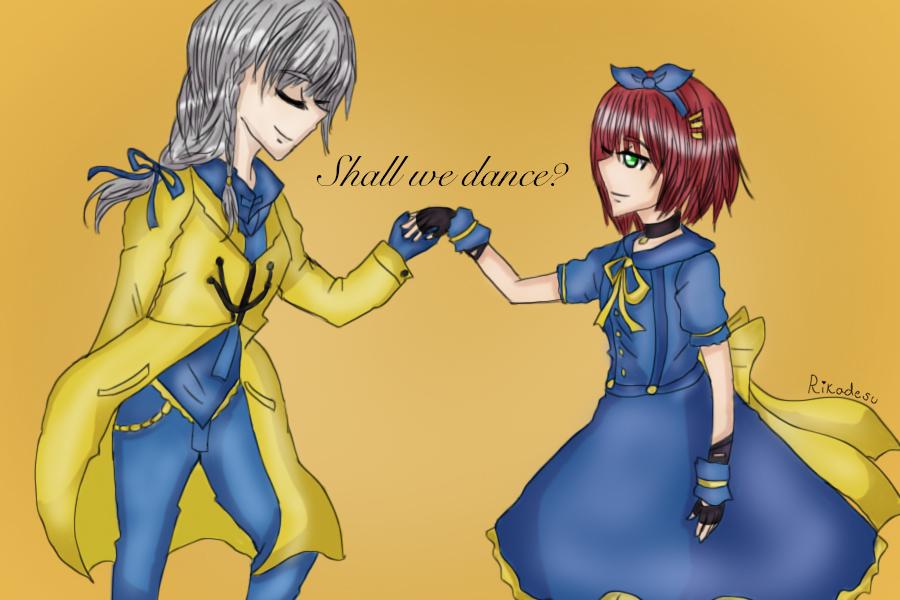 Elizabeth and Samantha by Rikadesu