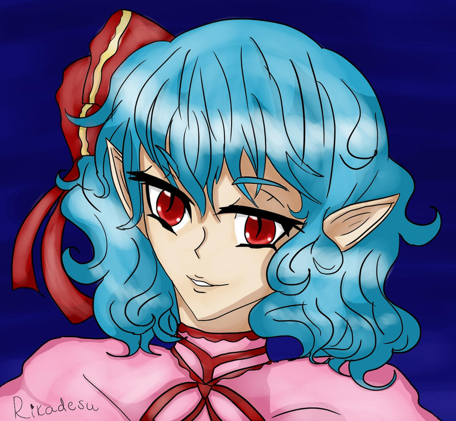 Remilia Scarlet by Rikadesu