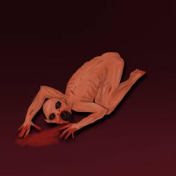Nightmare monster by Rikadesu