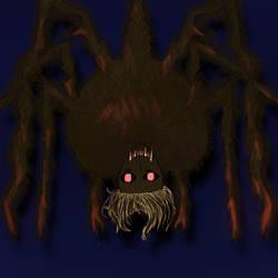 Nightmare spider by Rikadesu