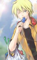 ugh Hot.. :Len: by FranyBerry