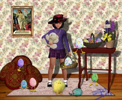 Belated Egg Hunt