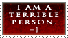 Terrible Person by ValgStamps