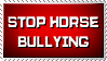 Horse Bullying Is Serious Business by ValgStamps