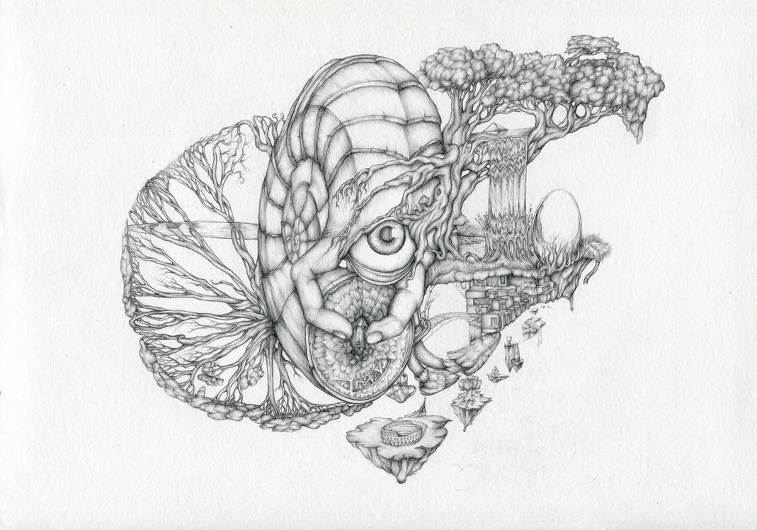Escargot falls by NPLMxAndi