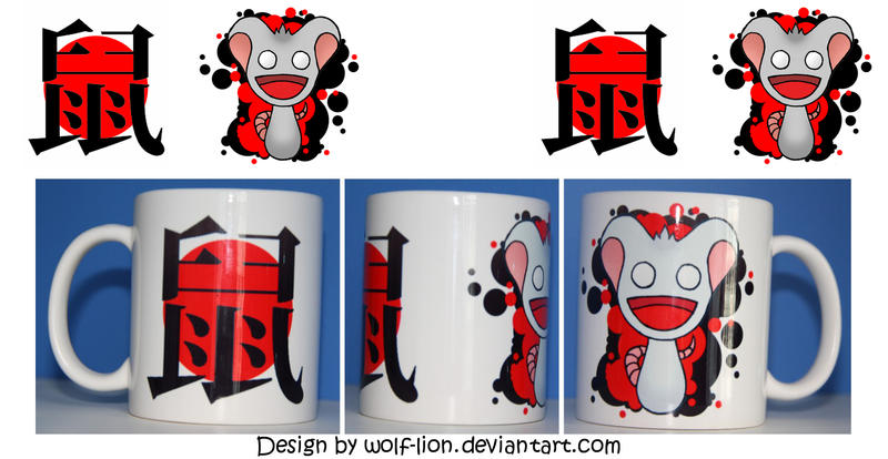 CZ cup - Rat by wolf-lion