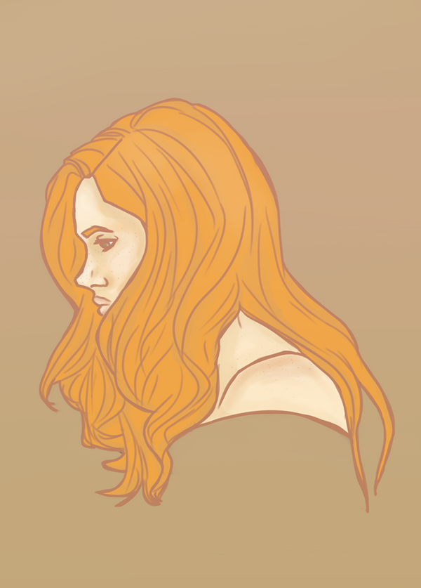 Amelia by moustacheme