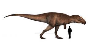 Giganotosaurus life restoration