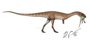 Elaphrosaurus + prey