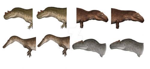 Theropod necks: horse-neck vs. conventional