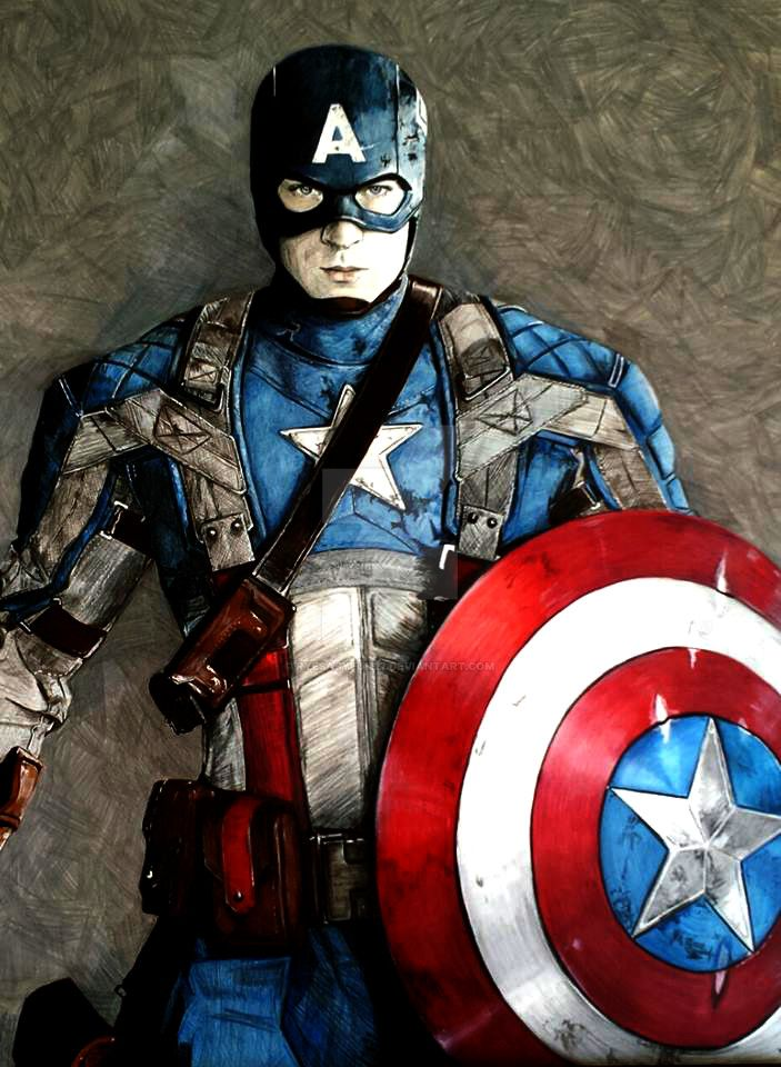 Marvel: The First Avenger by RyesAsylum27