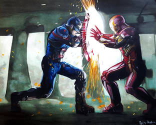 Marvel: The Battle Begins by RyesAsylum27