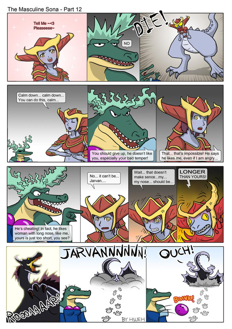 LOL: The Masculine Sona - Part 12 by phsueh