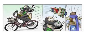 LOL: Urgot biking