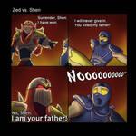 LOL: Zed vs. Shen