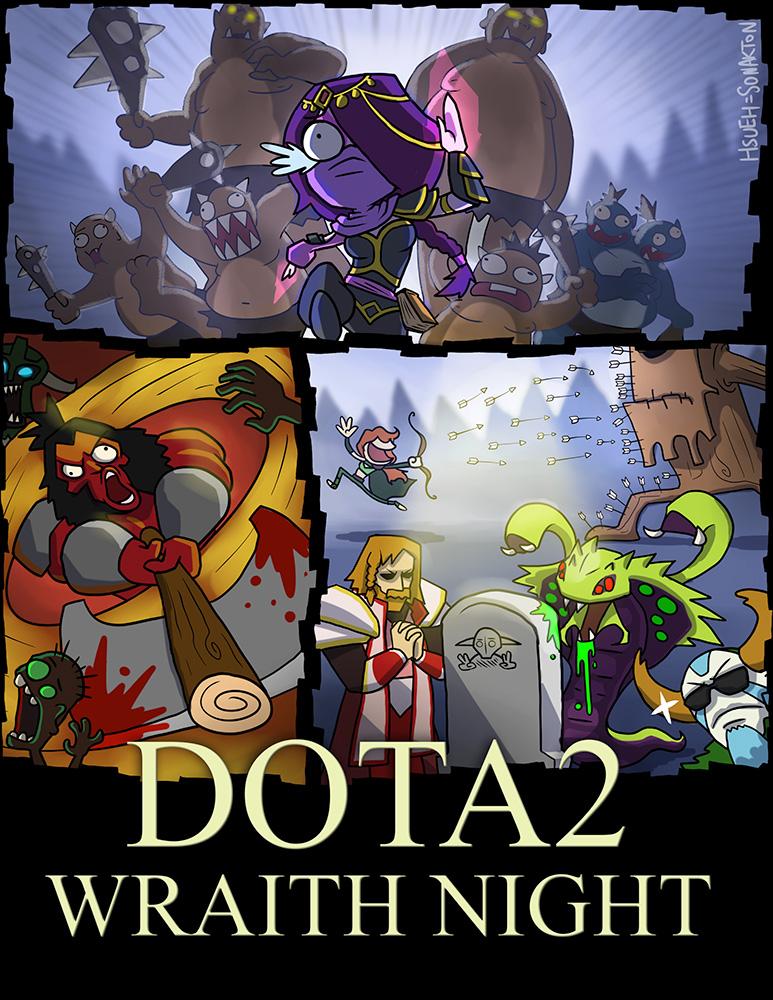 DOTA2: Wraith Night by phsueh