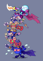 Zet and his Army (DOTA2) by phsueh