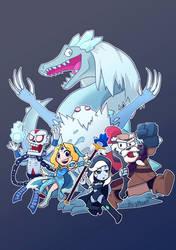 Team Ice!!! (Dota2) by phsueh
