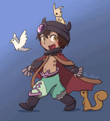 Reg from Made in Abyss by phsueh