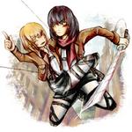 SNK - Mikasa x Armin