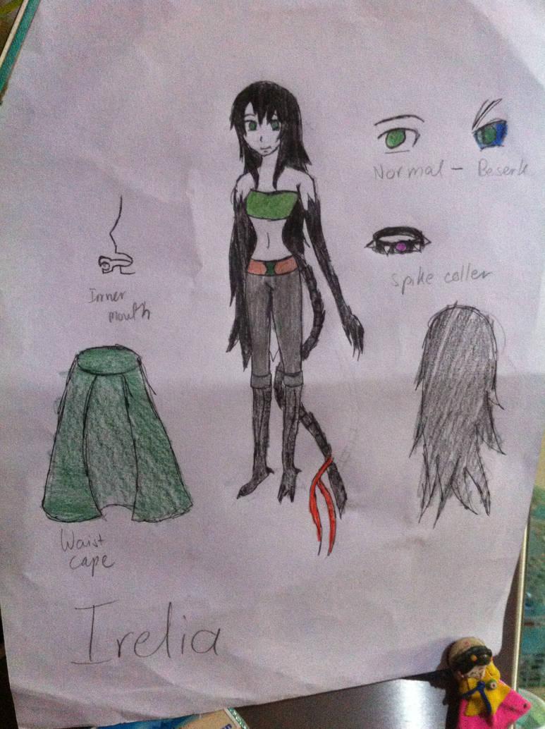 Xenomorph/Human Hybrid: Irelia by Dinodragongirl on DeviantArt