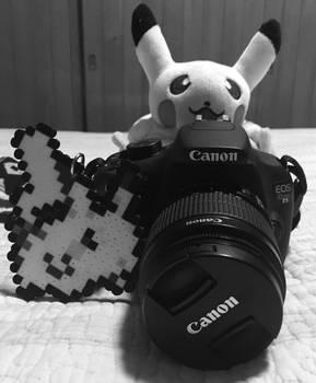Pikachu blanco y negro (Nuevo ID)
