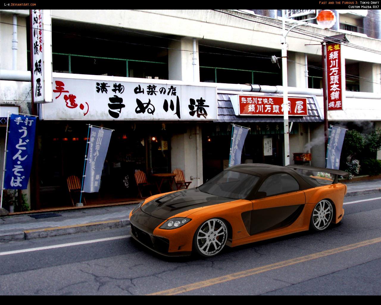 mazda rx7 fast and furious 6. fastu0027n furious rx7 by lx mazda rx7 fast and 6