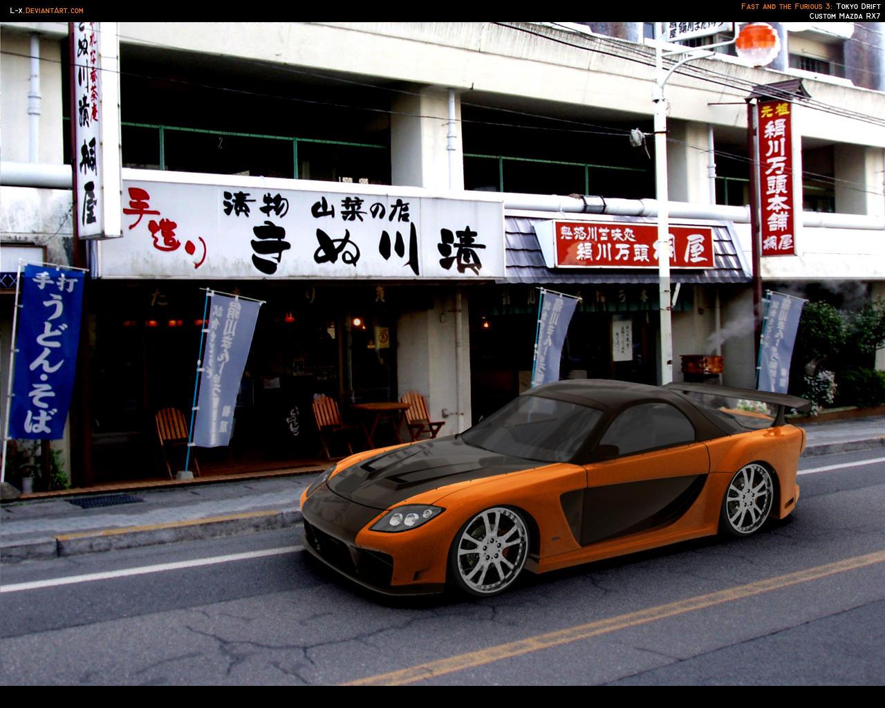 Fast'n Furious RX7 by L-X
