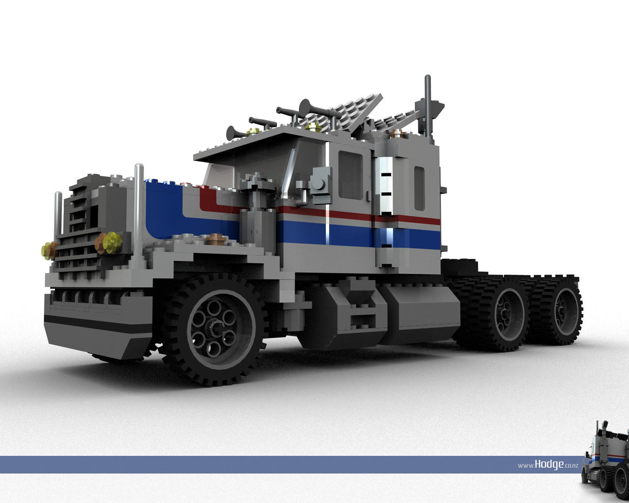 Lego Truck by L-X on DeviantArt - 362.2KB