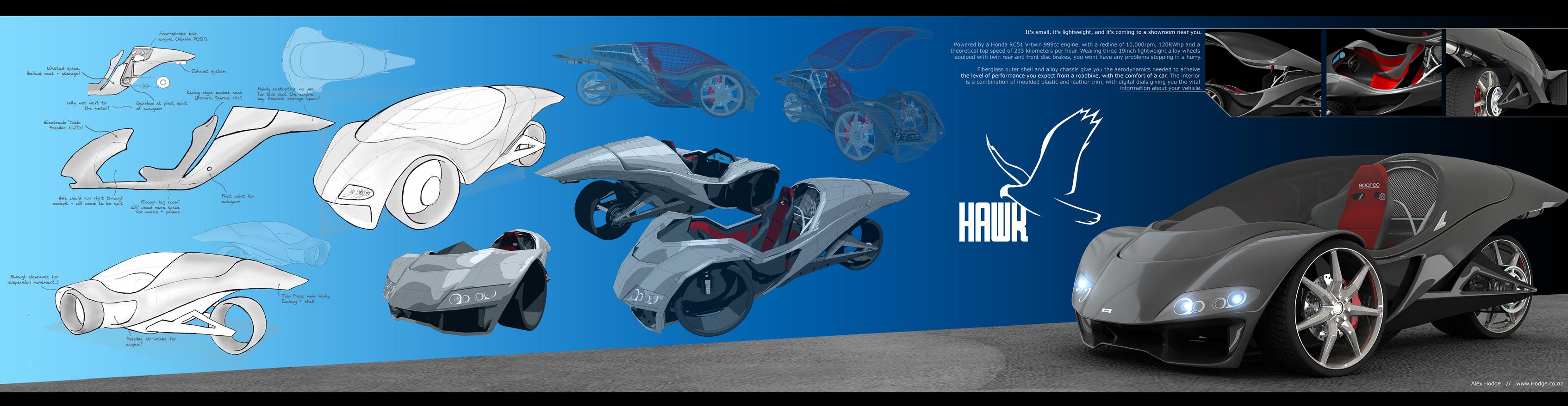 Hawk - Presentation Panel by L-X