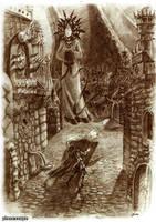 Lady of Pain by Fuflon by Deusuum