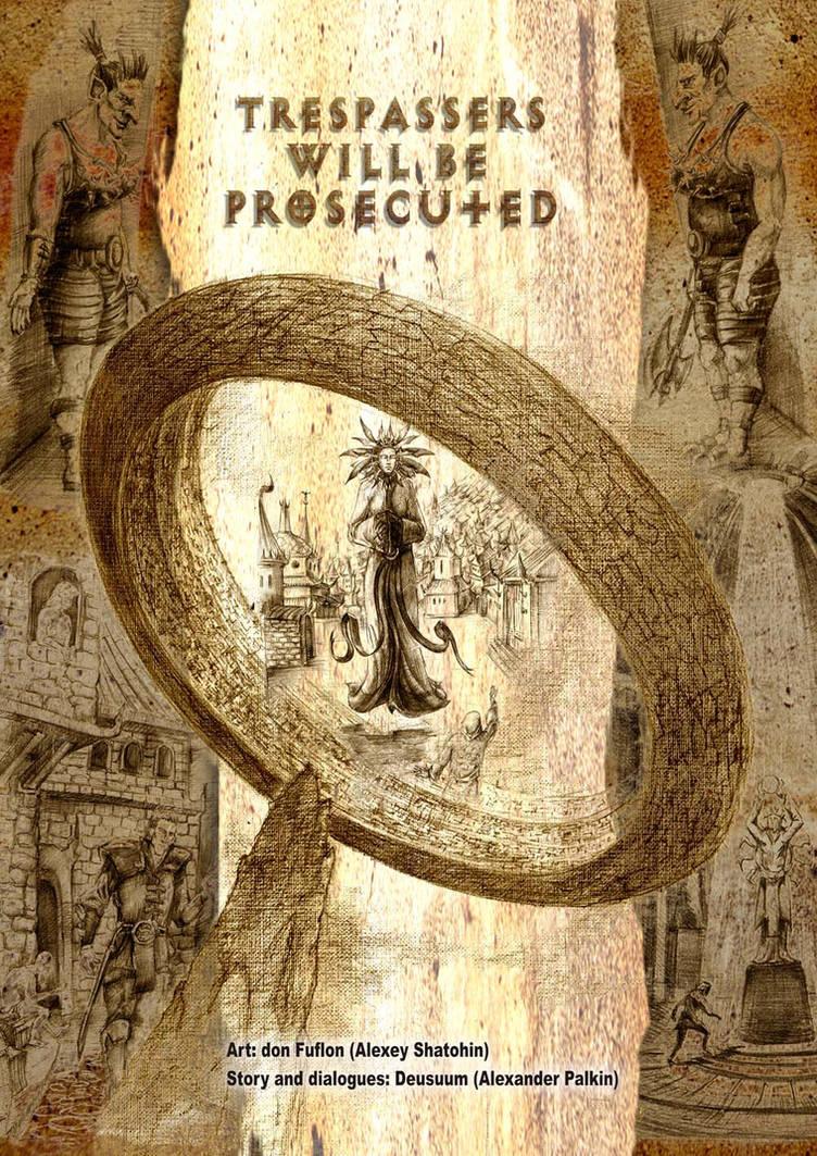 Planescape comic - cover