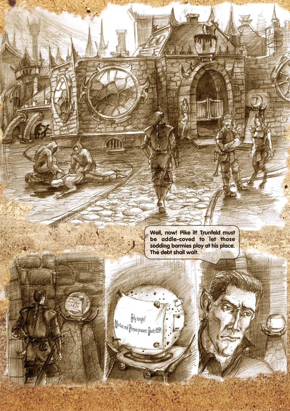 Planescape comic - strip 3