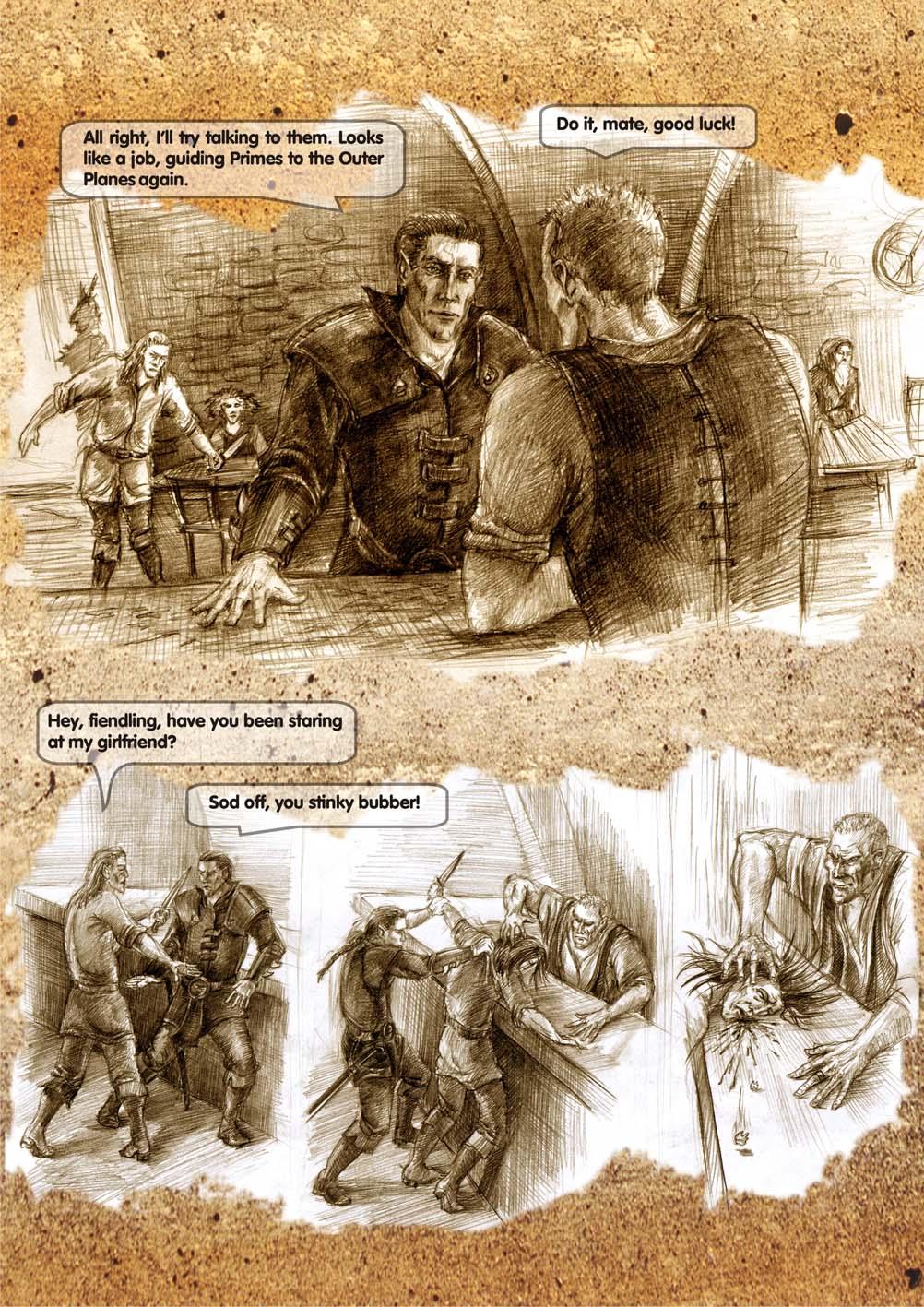 Planescape comic - strip 7