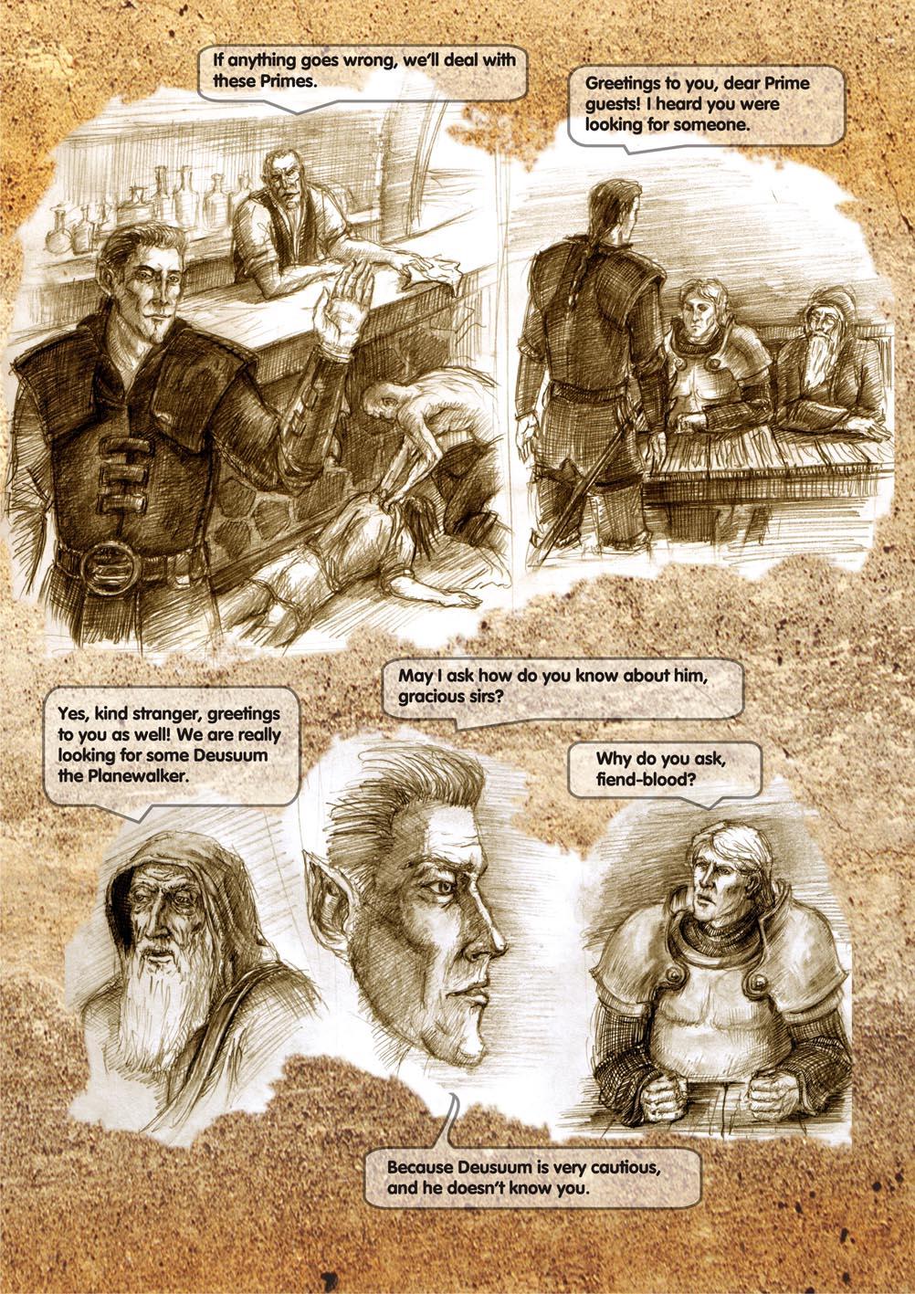 Planescape comic - strip 8