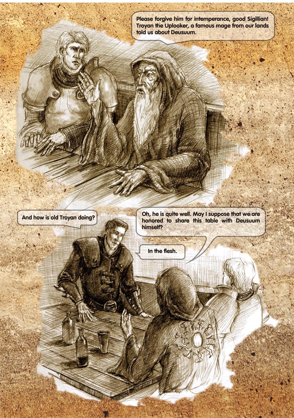 Planescape comic - strip 9