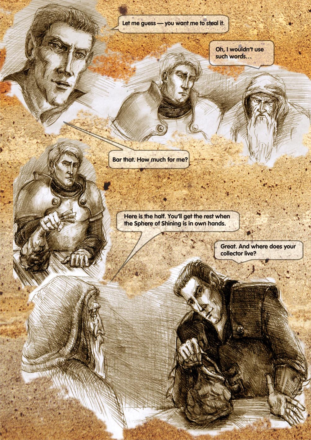 Planescape comic - strip 12