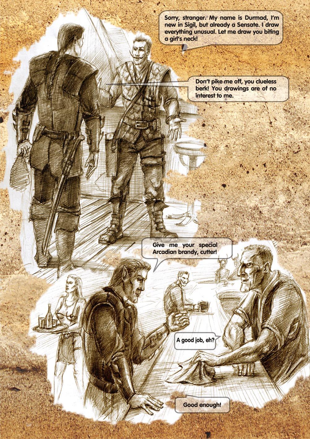 Planescape comic - strip 14
